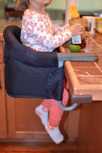 Clip on high chair