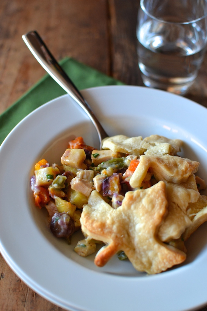 Turkey Root Vegetable Pot Pie