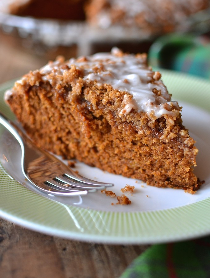 Gingerbread Banana Coffee Cake
