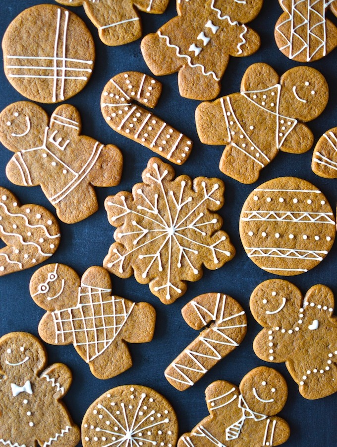 Gingerbread Cut-Out Cookies (Egg-Free)