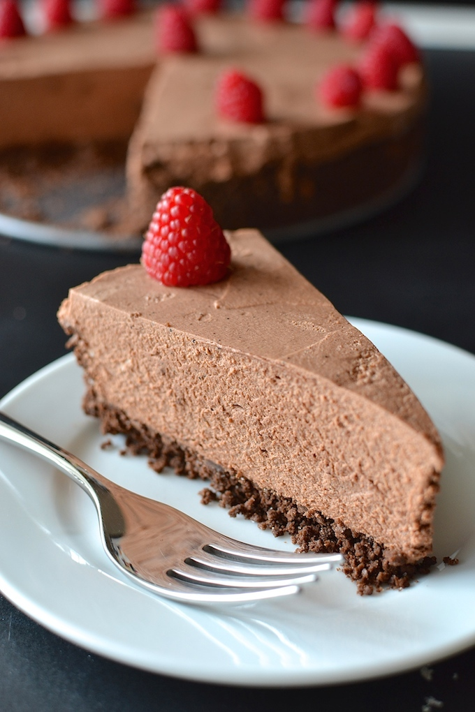 And this Chocolate Mousse Pie seems to only get better as it sits, so ...