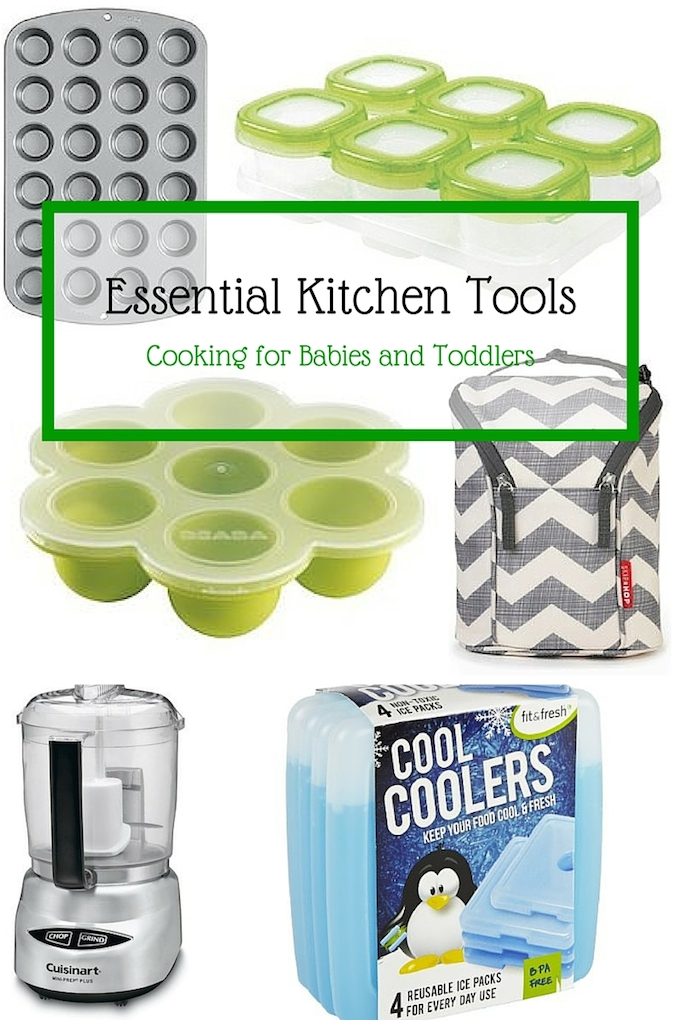 essential kitchen tools: cooking for babies and toddlers - sweet