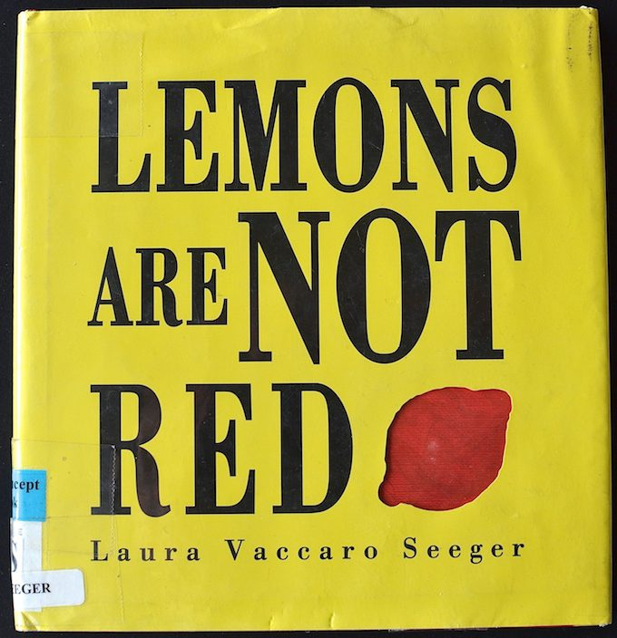 "Book Recommendation: ""Lemons Are Not Red"""